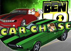 Download Ben 10 Car Chase